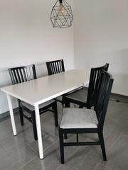 Esszimmer-Tisch mit 4 Stühlen