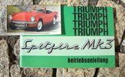 Betriebsanleitung Triumph Spitfire Mk3 1969