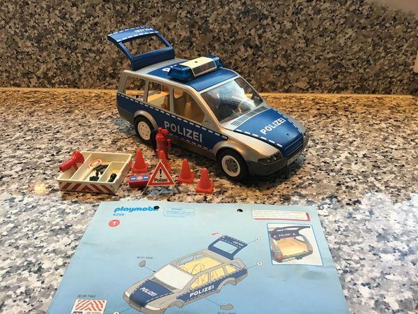 Playmobil polizei einsatzwagen