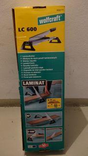 Verkaufe Wolfcraft Laminatschneider LC 600
