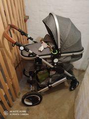 Kombiekinder Waagen mit auto Babyschale