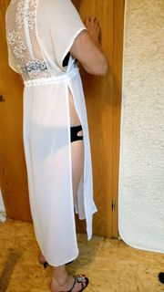 Kimono Morgenmantel Bademantel Strandkleid Wäsche