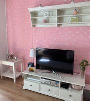 TV Möbel-Kombination Liatorp Ikea weiß