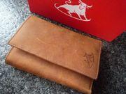 Vera Pelle Geldbörse aus Büffelleder