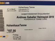 2 Karten Andreas Gabalier