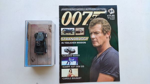 James Bond Car Collection Nr