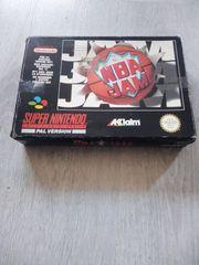 NBA JAM Super Nintendo Pal