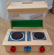 Spielküche Küche Holz Tischküche