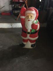 Weihnachtsmann Deco