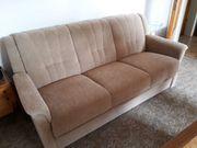 Sofa mit Schlaffunktion 2 Sessel