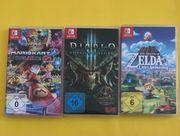 Nintendo Switch Spiele je 30