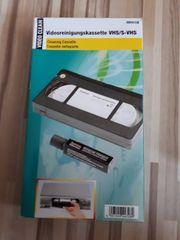2 Video Reinigungskasetten 3 Videokassetten