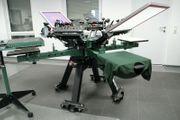 Siebdruckmaschine Textil Karussell VASTEX V-2000HD