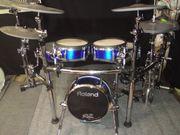 Roland TD20 E-Drumset in Blau-metalic