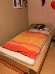 Bett - sehr stabil - Liegefläche 1x2m