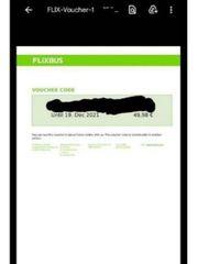 Flixbus voucher gutschein code