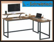 NEU großer Schreibtisch in L -
