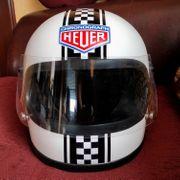 Classic Motorradhelm Gr L Retro