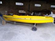 Angelboot zu verkaufen