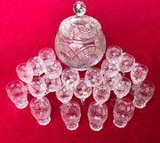 Bleikristall-Set 1 mit großer Bowle