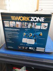 Farbsprüh-Anlage Workzone