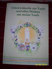 Tauf-Album Erinnerungsalbum v Angelina Schulze