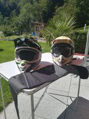 Motorradhelme mit Sonnenschutz