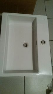 Waschbecken weiss