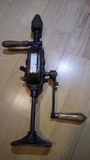 Tischler Schreiner - Handbohrmaschine - Handleier - Brustleier