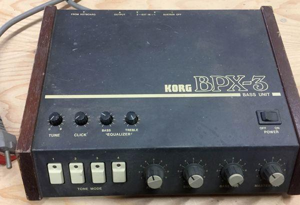 Korg BPX-3 Vintage Analog Bass
