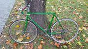 Fahrrad Retro Rennrad zur Restaurierung