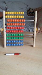 Holzkugel-Rechenmaschine