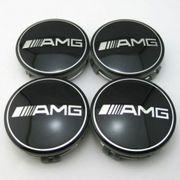 4x Mercedes AMG Nabendeckel Felgendeckel