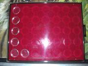 4 Münztableaus 3x 29 5mm