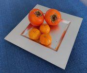 DEKO-TELLER - Obstteller - Weihnachts-Deko-Schale Obst-Teller