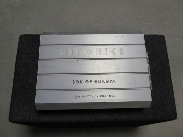 Hifonics Son Of Europe Endstufe Amplifier in Roßdorf - Auto