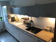 IKEA Küche grau weiß inkl
