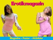 Männermagazine und Poster