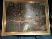 Bild Gemälde Öl auf Leinwand