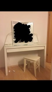 Schmink Frisiertisch IKEA Malm
