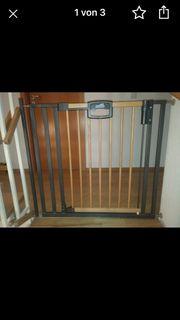 4 Geuther Treppenschutzgitter mit Befestigungsmaterial