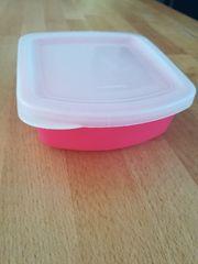 Tupperware Mini Lunchbox Behälter pink