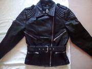 Motorrad-Lederjacke Damen Gr 40