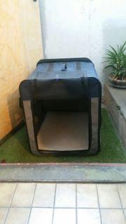 faltbare Hundetransportbox