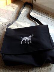 Schultertasche Tasche für den Hundespaziergang
