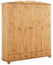 NEU Home affaire Kleiderschrank Massiv-Holz