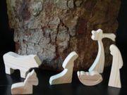 Krippenfiguren massives Holz Handarbeit