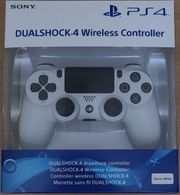 PS4 Controller V2 in weiß