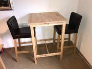 Ikea Hochtisch mit 2 Stühlen