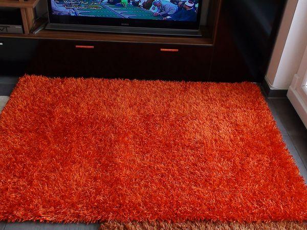 Teppich Orange Neu